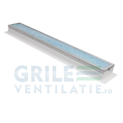 Grila slot liniara, difuzor liniar tip slot din profil de aluminiu