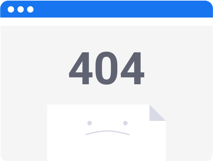 Imagine pagina eroare html 404